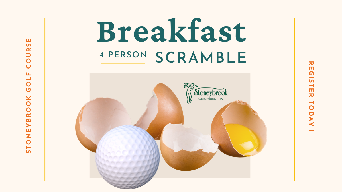 Join us for Breakfast & Golf